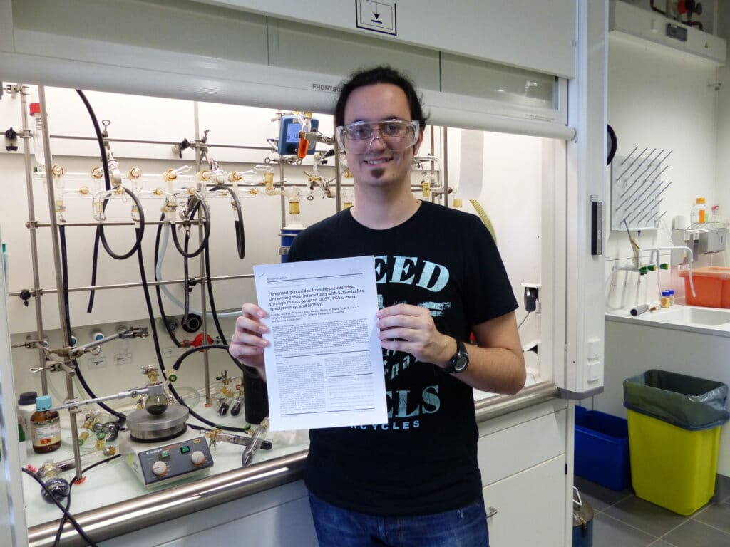Álvaro publishes his first contribution to Magnetic Resonance in Chemistry. Congratulations !!