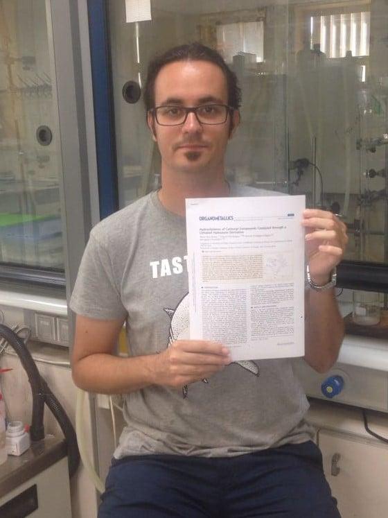 Álvaro publishes in Organometallics ! A lithiated hydrazone catalyzing like crazy !