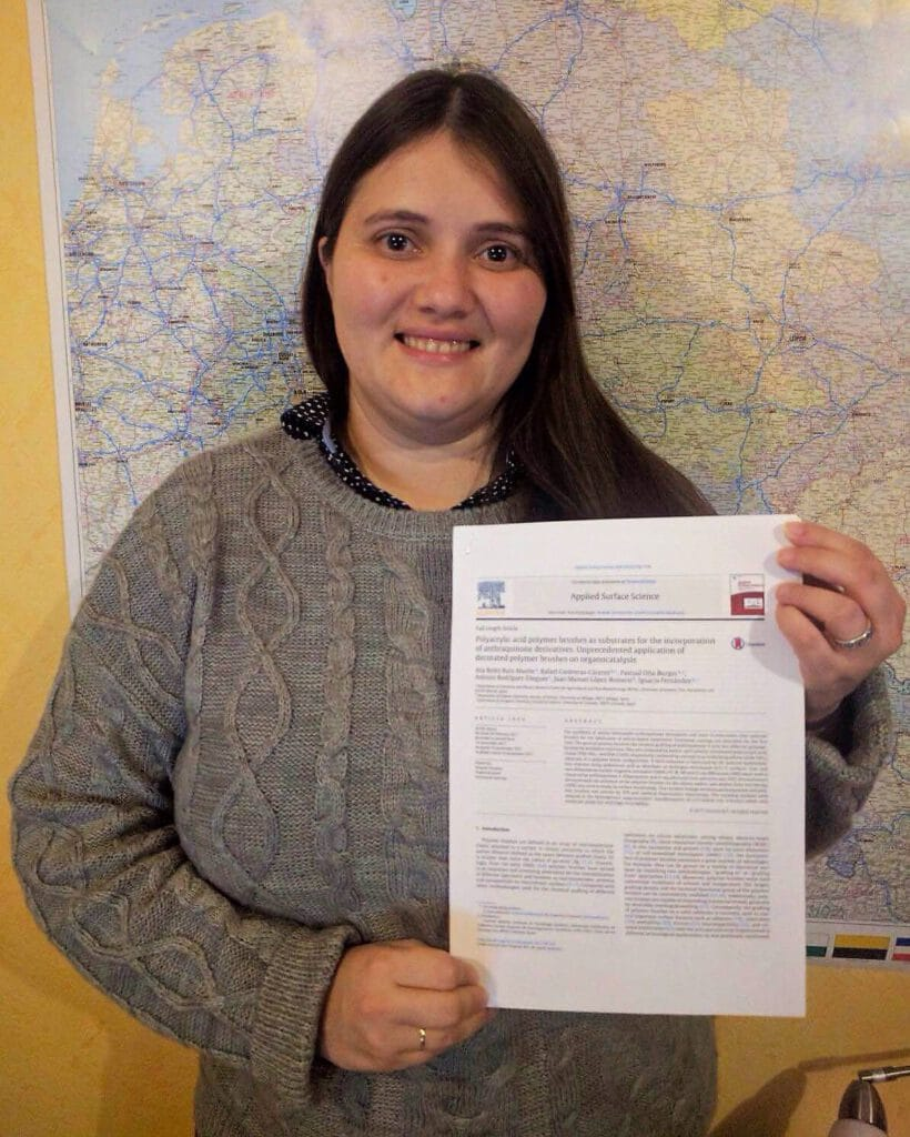 Ana Belén publishes in Applied Surface Science. Congratulations for the hard work !