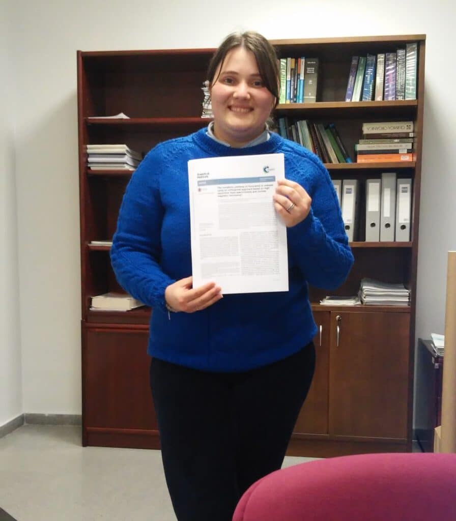 Ana Belén publishes a collaborative work in Analytical Methods. A journal of the Royal Society of Chemistry. Congratulations and Good job !!
