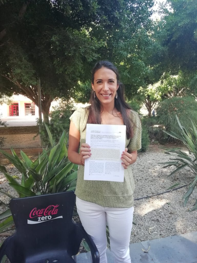 Two in a row ! Ana publishes in the Journal of Agricultural and Food Chemistry !! Congratulations Ana !!
