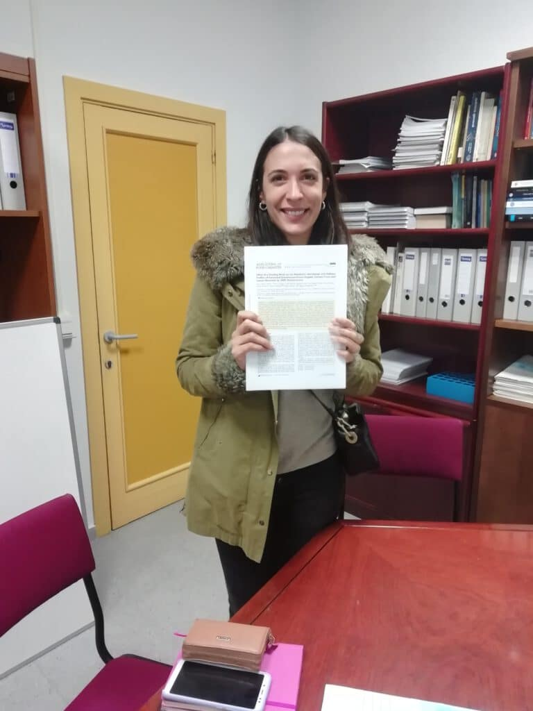 Ana publishes in the Journal of Agricultural and Food Chemistry !! Congratulations Ana !!