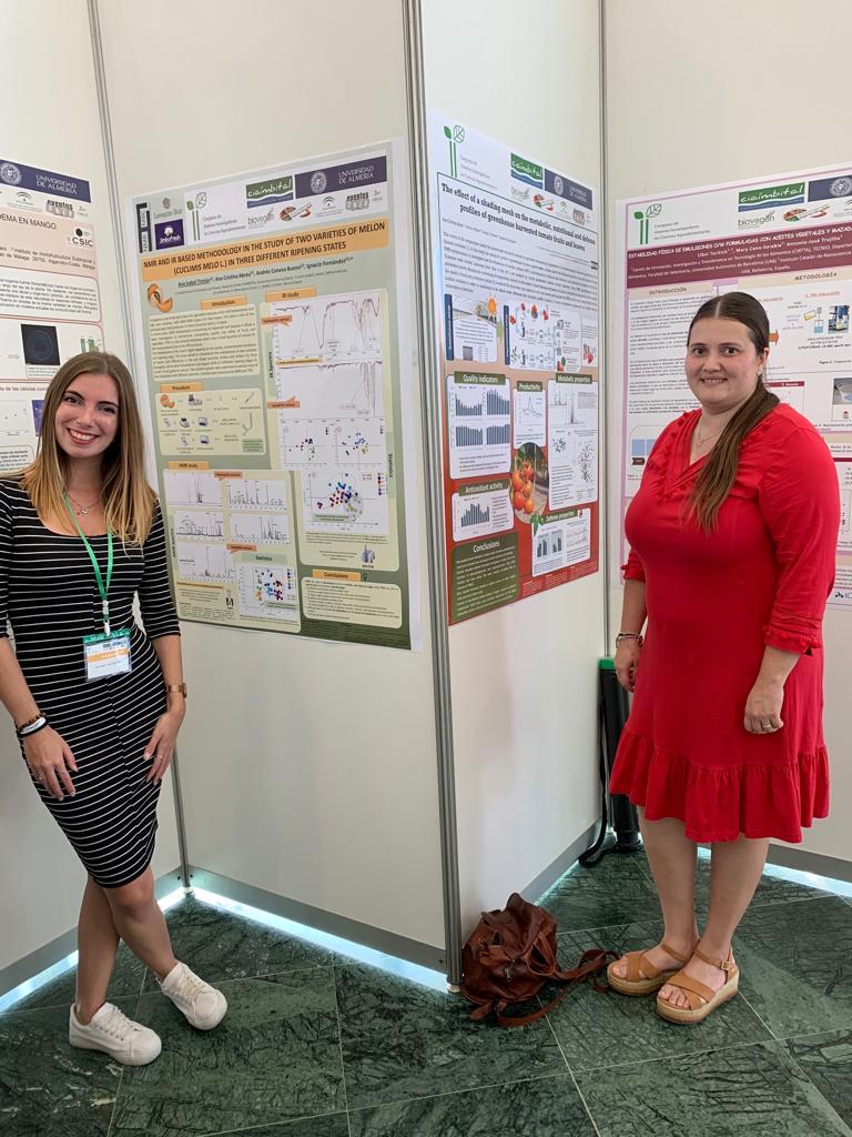 Anabel and Ana Belén assist to the 2nd Congreso de Jóvenes Investigadores en Ciencias Agroalimentarias 2019 held in the CIAIMBITAL Research Centre