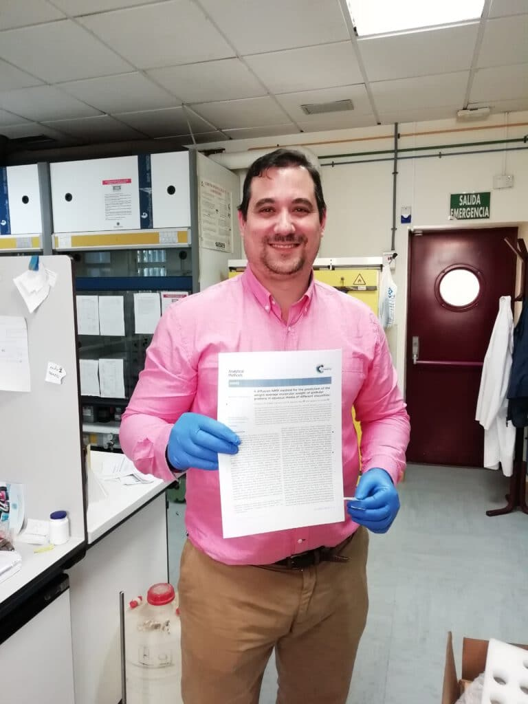 Curro is from now on new «Profesor Ayudante Doctor»  in the Department of Engineering ! Congratulations Curro !