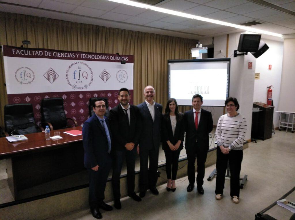 Nacho participates in the evaluation of the PhD Thesis of Almudena Lorente at the Universidad de Castilla y la Mancha (UCLM)