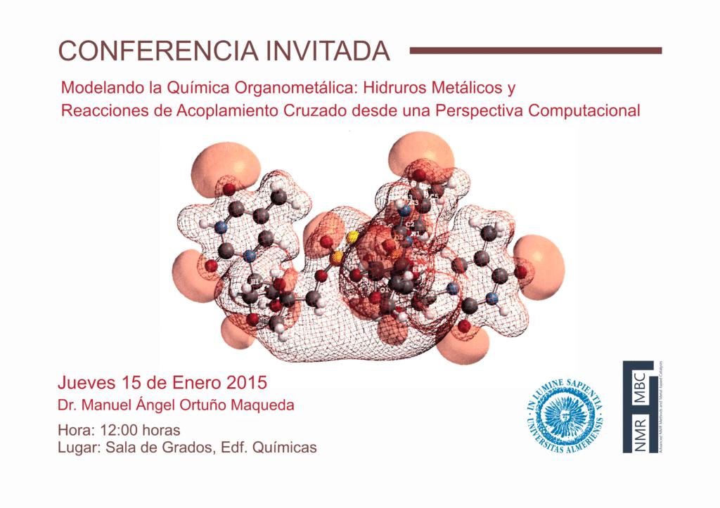 Invited Conference: Dr. Manuel Ángel Ortuño Maqueda