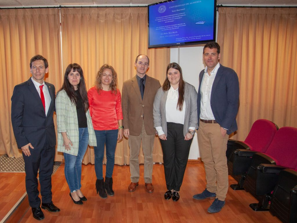 Congratulations Ana Belén ! She has obtained today his PhD title with the maximum calification of Sobresaliente !