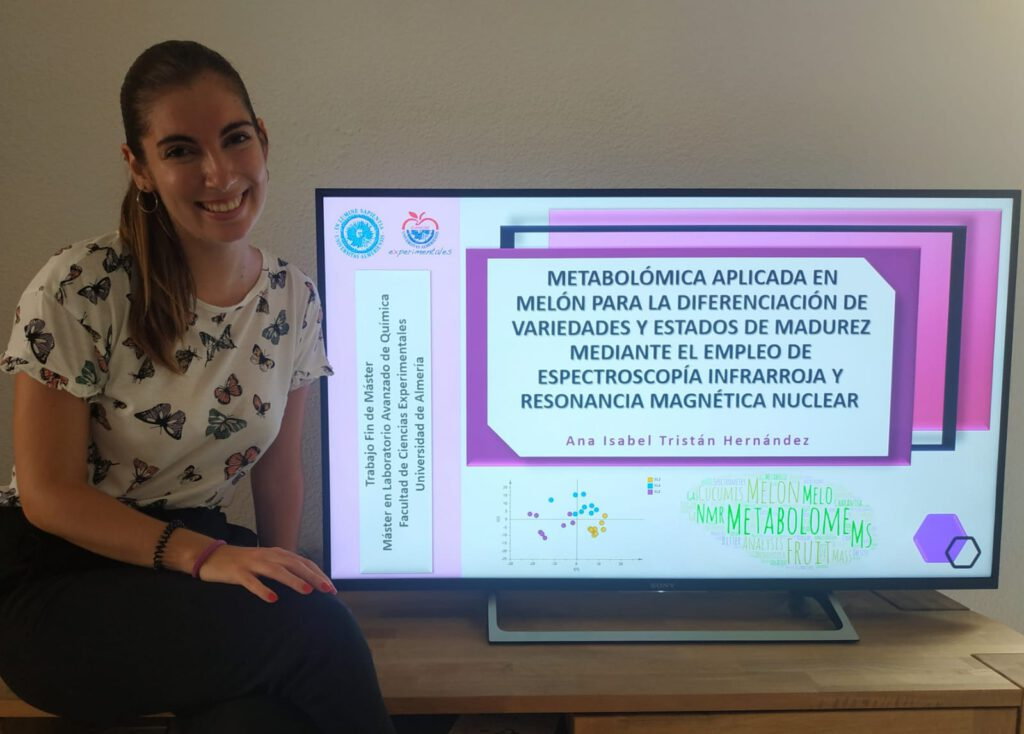 Anabel defended her Masther Thesis ! Congratulations Anabel ! Great job !