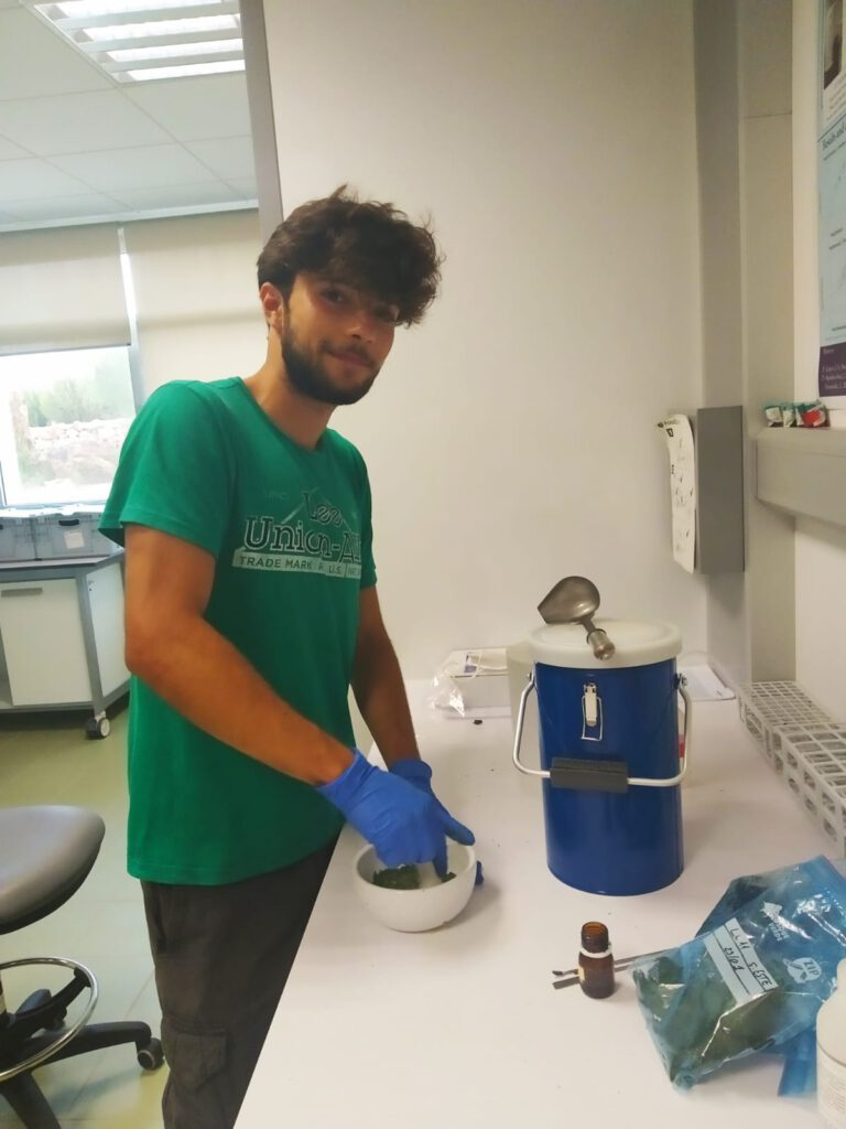 Francisco from University of Oporto has joined the group as an Erasmus+ mobility fellow ! Welcome !
