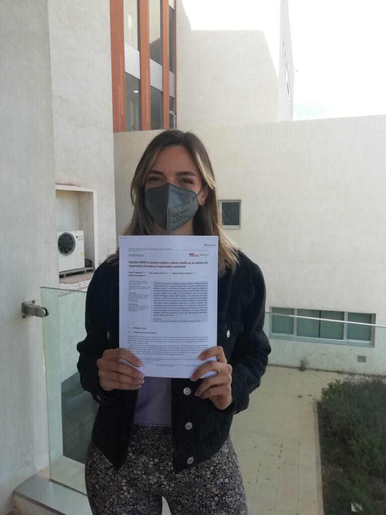 Ana del Mar publishes in NMR in Biomedicine